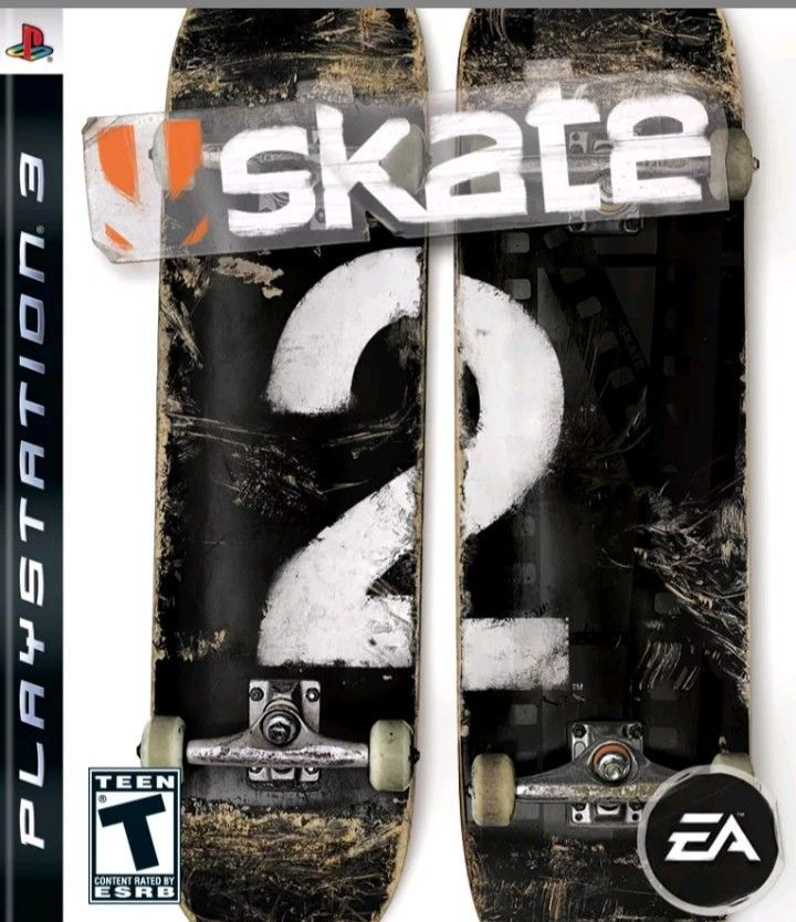Skate 2 Ps3 Sony Playstation 3 Fast Free Shipping #ps4