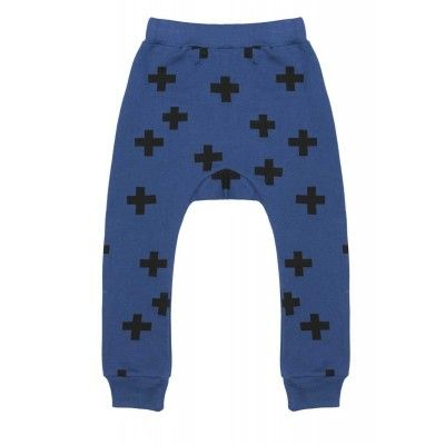 We love the Beau Loves Davenport Pant, seen here in navy with an allover crosses print. Super comfy for little people, and super cool too. 100% quality cotton. £31.-- 12 months to 4 years at www.smallfolkrun.com