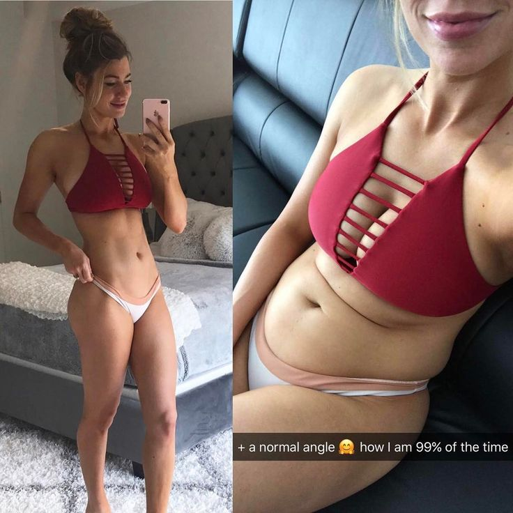 This Fitness Blogger's Photo Teaches Us Not to Trust Everything on Instagram | Shape Magazine