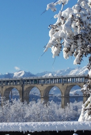 ISoler Viaduct, Cuneo, Province Cuneo, Piemonte region Italy by Dittekarina