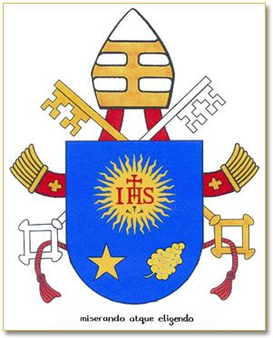 Francis' Coat of Arms