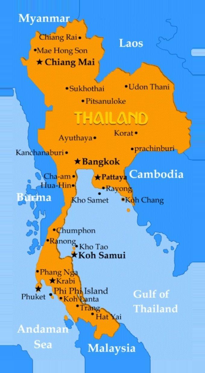 detailed map of korat thailand - 680×1239