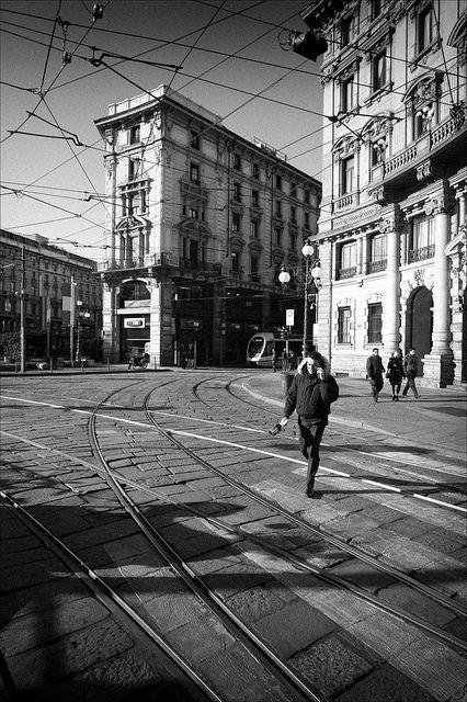 Piazza Cordusio.