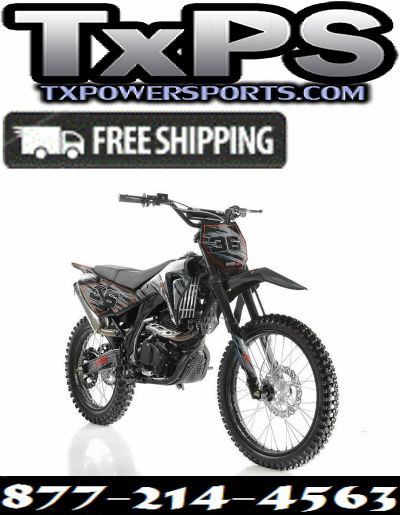 Apollo DB-36 250cc Dirt Bike - Free Shipping HIGH END DIRT BIKE 250CC Special Edition Free Shipping Sale Price: $1,549.00