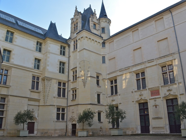 Logis Barrault in Angers where the Edict of Nantes was signed in 1598 by Henri IV granting civil rights to Protestants in sanctuary cities where they could live in peace, while reaffirming Catholicism as the established religion of France. It would be revoked in 1685 by Louis XIV.