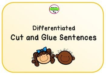 This pack contains 85 worksheet activities for sentences that use high frequency words, such as I, like, can, you, have, to, and, the.Each set contains approximately 7 different sheets for one sentence starter. It is differentiated by varying in lengths of sentences from 3 to 7 words.
