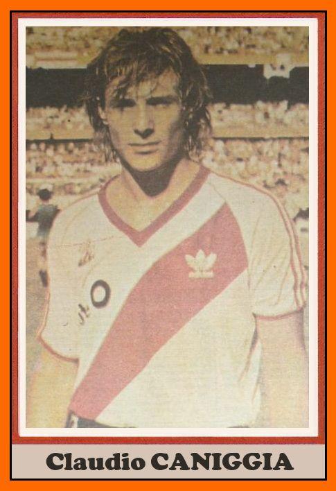 #FotodelRecuerdo Claudio CANIGGIA con la de River Plate en 1987 (@Notícias 24h River)