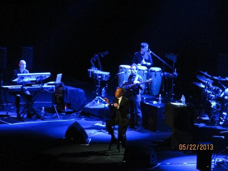 Julio Iglesias en concierto desde el Auditorio TELMEX de Guadalajara