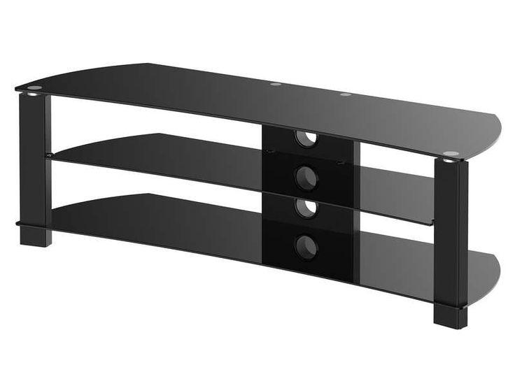 140CM - 150€ - Meuble TV incurvé REC8 coloris noir - pas cher ? C'est sur Conforama.fr - large choix, prix discount et des offres exclusives REC8 sur Conforama.fr
