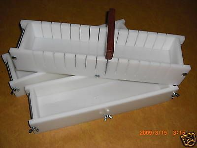 4-5-Lb-SOAP-MOLDS-BAR-SLICER-Cutter-MOLD-Set-Wood-Lids-AvaL