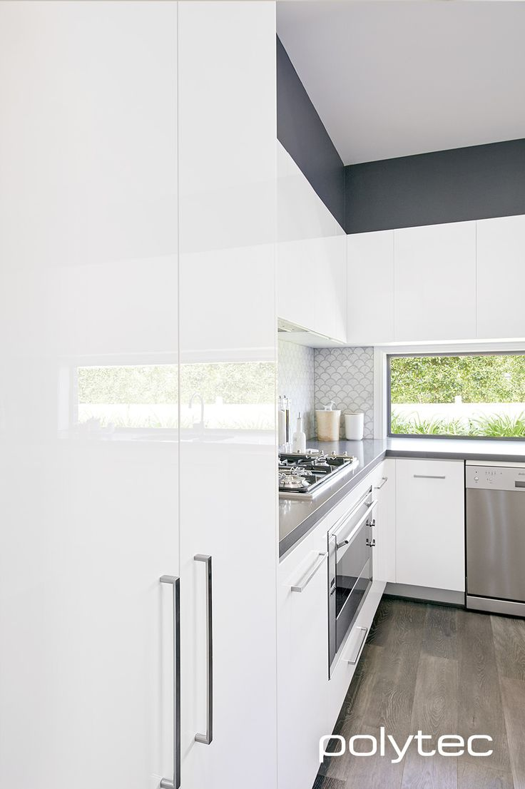 ULTRAGLAZE doors and panels in Superior White Gloss.