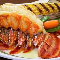 Caribbean Baked Lobster Tails - Recipe for Baked Lobster Tails | Caribbean Recipes | Caribbean Food Recipes