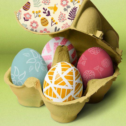 Pasqua può essere l'occasione perfetta per giocare insieme ai propri piccoli realizzandospeciali decorazioni per la tavola!