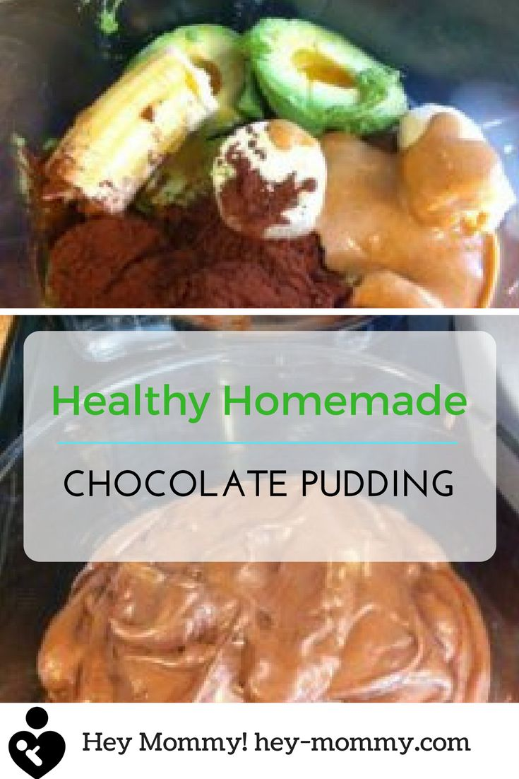 Simple and quick healthy homemade chocolate pudding to satisfy any craving!