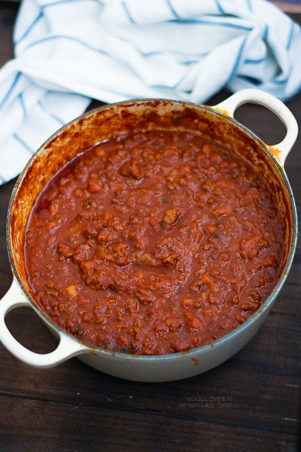 REAL Italian Bolognese sauce! The original recipe + my super mouthwatering…