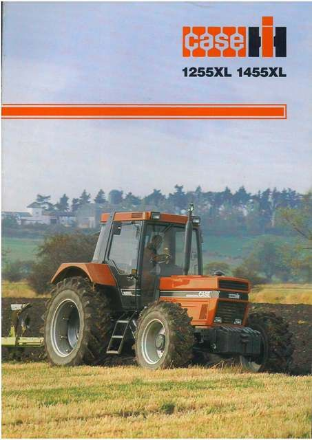 IH 1255 International Tractor | Case IH Tractor 1255XL & 1455XL Brochure
