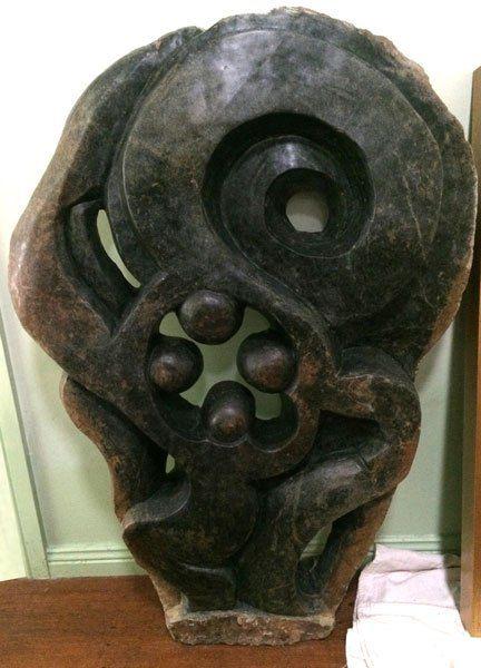 The Dance - African shona stone sculpture