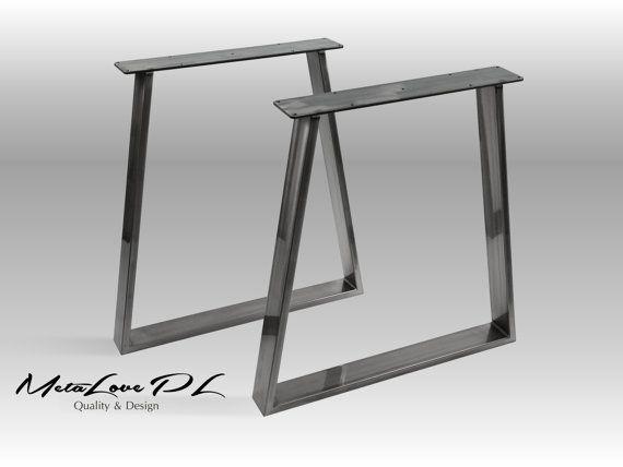 "28"" VEX 80.20 Trapezoid Table Legs, Height 26"" - 32"" SET(2)"
