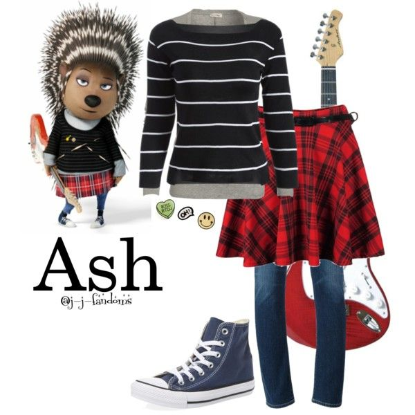 Ash - Sing by j-j-fandoms on Polyvore featuring American Vintage, Citizens of Humanity and Converse