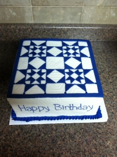 Quilt Cake By jenje on CakeCentral.com                              …
