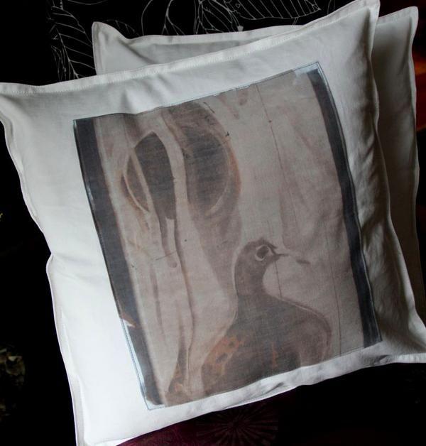 throw pillows handprinted art covers by yoyoro  #art #handprinted #pillowcovers #homedecor #pillows #adamsart #yoyoro