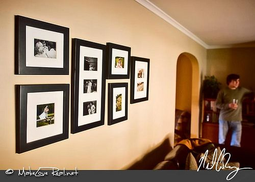17 Best ideas about Displaying Wedding Photos on Pinterest