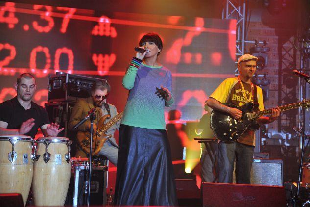 Zespół Transmisja dostarczył mnóstwo funkowych wrażeń (fot. TVP)