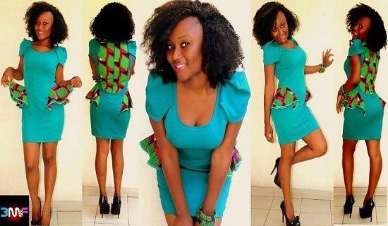 Robe africaine | Mode africaine femme | Pinterest | Décor