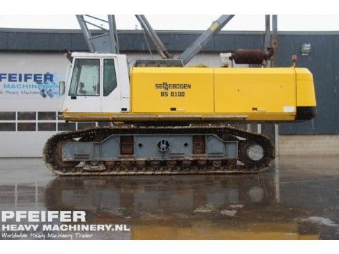 #Used #SENNEBOGEN - 6100 R/KB #telescopic #crane available at #Pfeifer #Heavy #Machinery. Year of construction 1998. Hours 17114. Loading (lifting) capacity (kg) 100000. Boom length maximum (m) 37. Fuel Diesel. PHM-Id 06011.