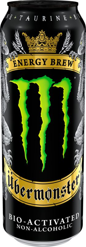 Monster Energy Energy Drink Can Unleash The Beast Monster Energy Ubermonster