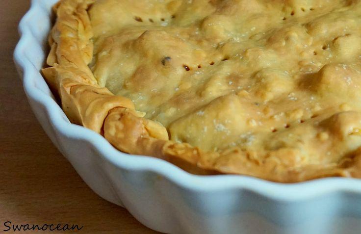 Easy apple pie-Πανεύκολη μηλόπιτα