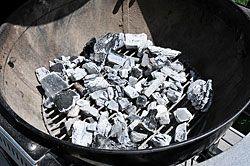 Hardwood Lump Charcoal Direct Fire