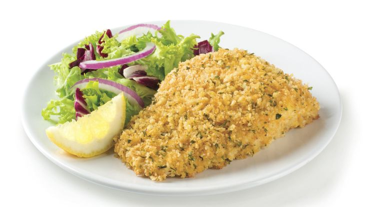 Give your baked haddock a crispy crunch with a coating of panko bread crumbs. Old Bay seasoning combines with parsley and olive oil to help the fish bake up tender on the inside with a light-tasting crispy crunch on the outside.
