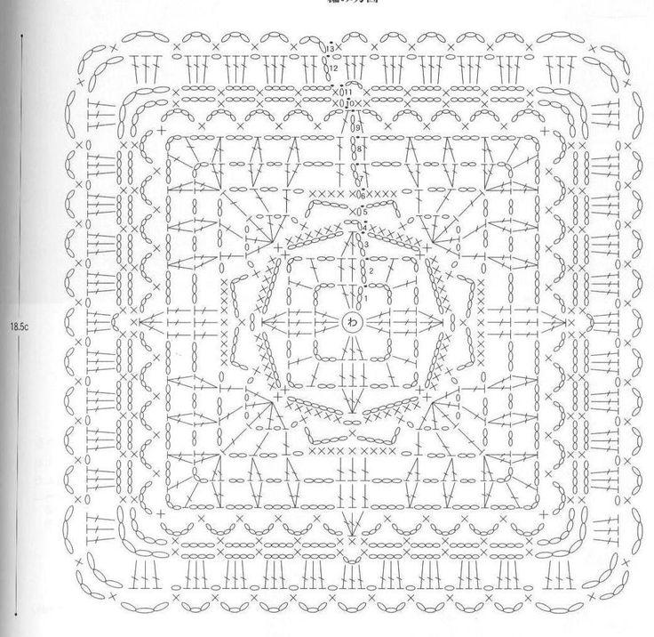 2022 best images about    crochet squares  grannies