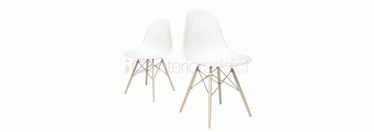 Eames Style DSW Plastic Chair | Interior Addict£114.80 for 2 chairs, plastic moulded