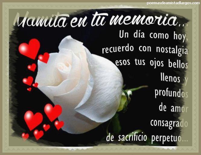 Sentidos Versos Para Una Madre Fallecida Frases Para