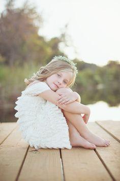 Little girl photo shoot