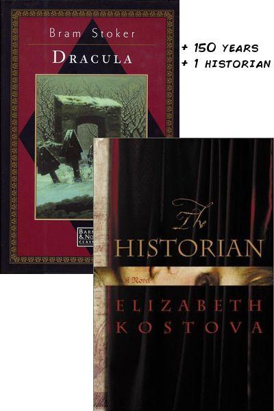 DRACULA  + 150 years + 1 historian = THE HISTORIAN