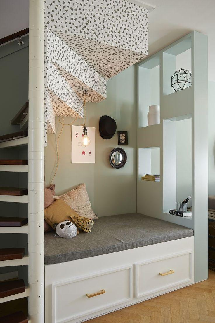 25 beste idee n over ingang opslag op pinterest boerderij inrichting kinderkapstokken en - Kantoor onder helling ...