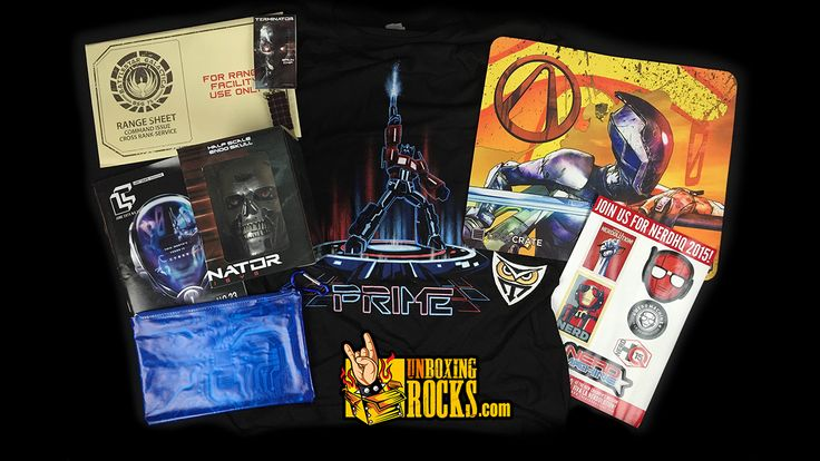 All Items Inside June, 2015 Edition of Loot Crate-