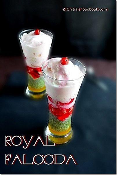 Indian dessert Royal Falooda