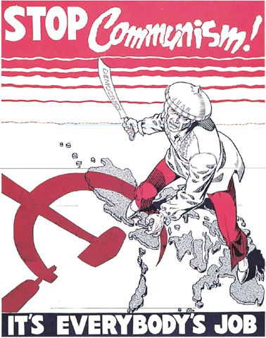 The red scare had everybody worried and needs everybody to help stop them.
