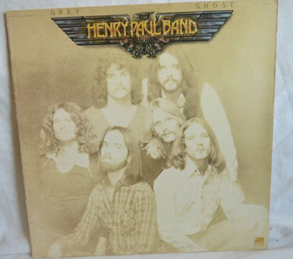 Vintage Record Henry Paul Band Grey Ghost Album by FloridaFinders, $6.00