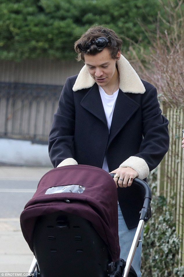'Stop your crying baby, it's a sign of the times': Smitten Harry Styles melted hearts ever...