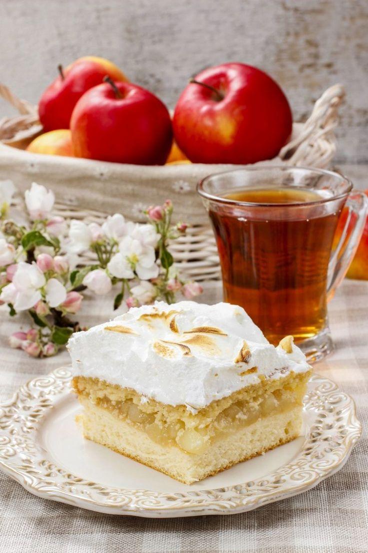 Яблочный пирог с кремом / Едальня