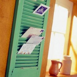 This DIY board provides a cute way to sort and store your mail. (via Apartment Therapy)