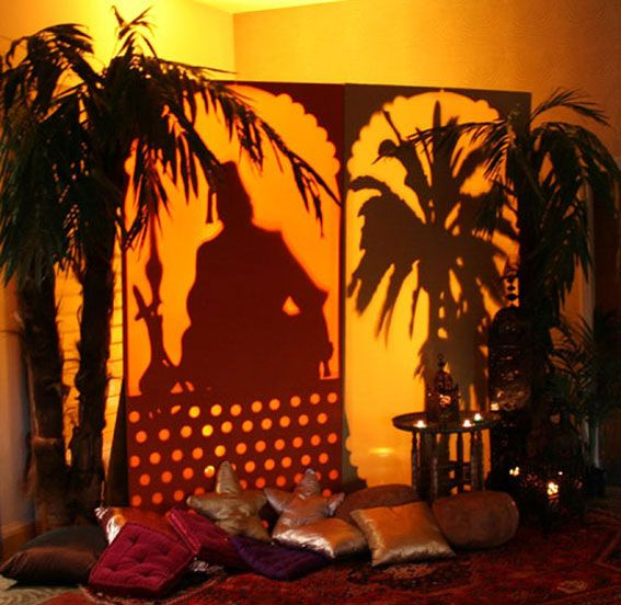 Arabian Nights Theme | Arabian-Nights-Theme-Shisha-Man-and-Palm-Tree-Back-Lit-Screen-Props ...
