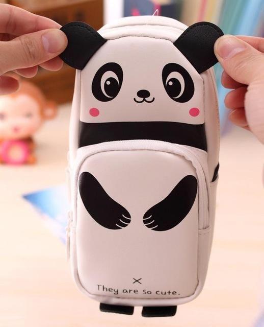 Cute Panda Pencil Case School Supplies Novelty Item For Kids Cute Pencil Case Drop shipping #XG30