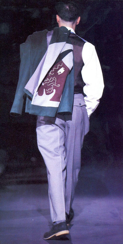 Yohji Yamamoto Menswear, FW 1991