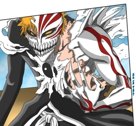 bleach Ichigo Hollow transformation